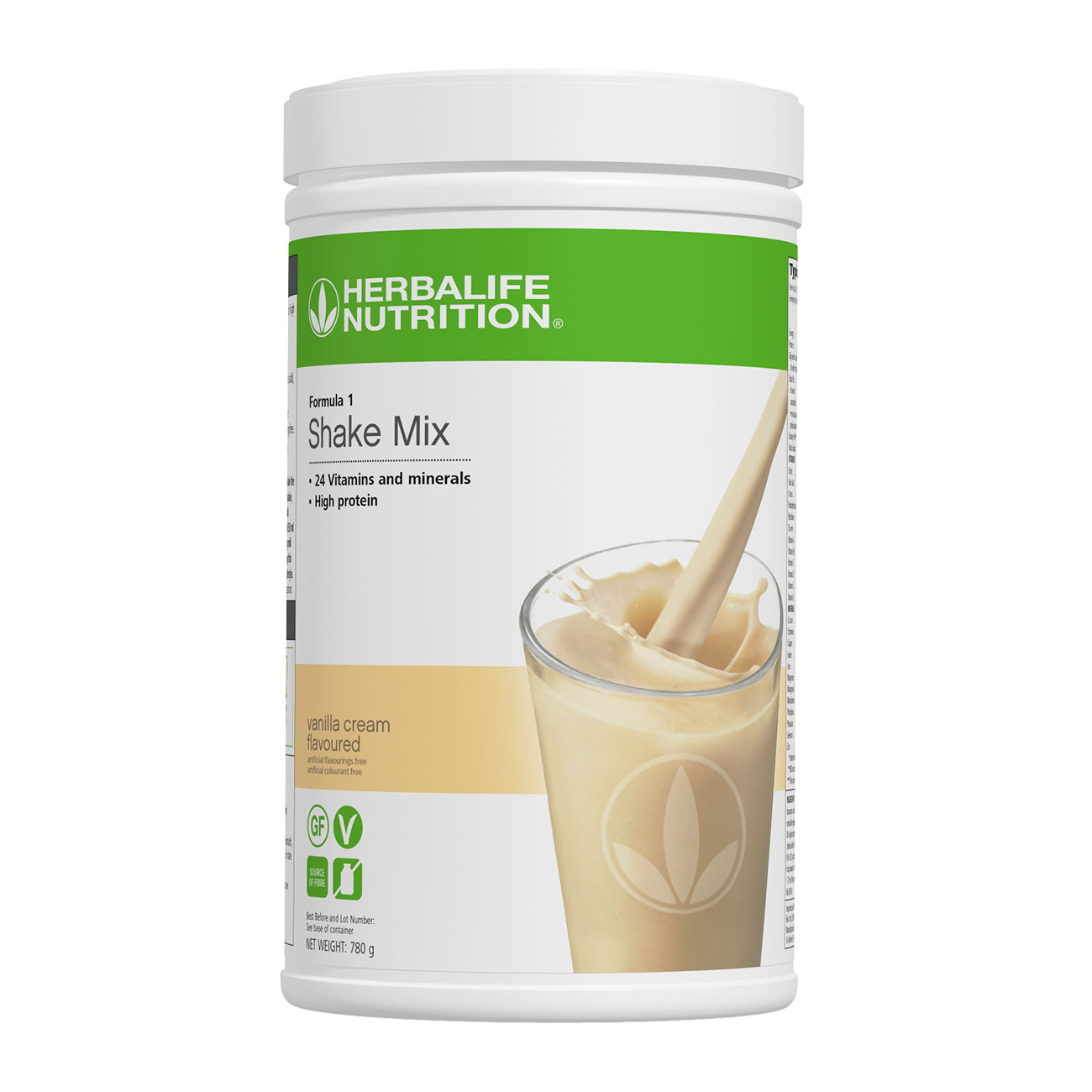 Formula 1 Shake Mix Vanilla Cream Flavoured 780 g product shot