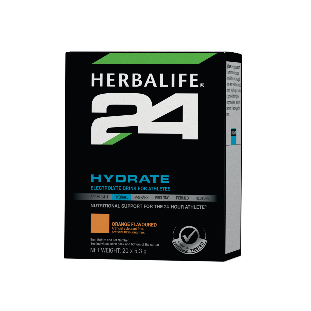 Herbalife24® Hydrate Electrolyte Drink Orange Flavoured product shot