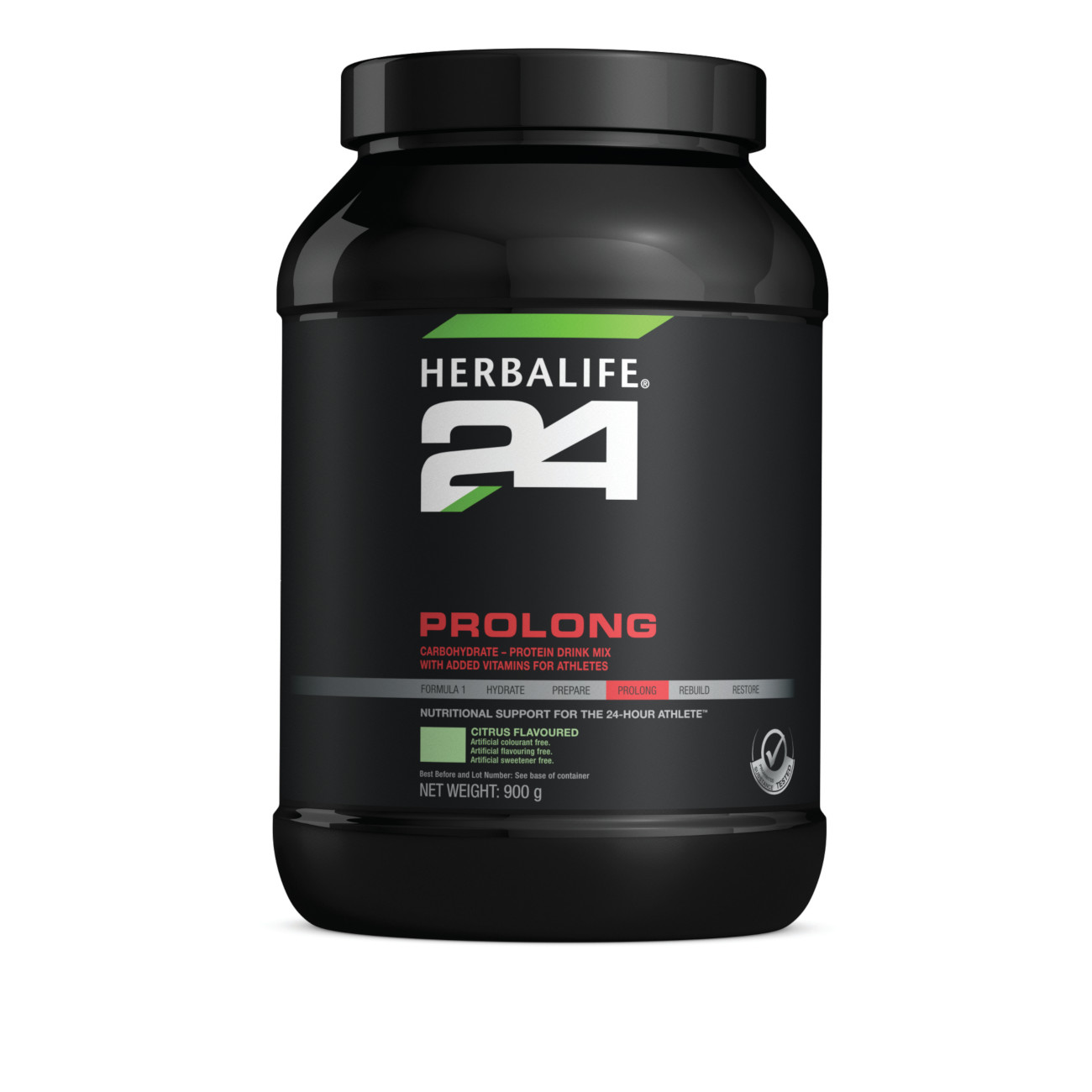 Herbalife24® Prolong Carbohydrate-Protein Drink Mix Citrus Flavoured product shot