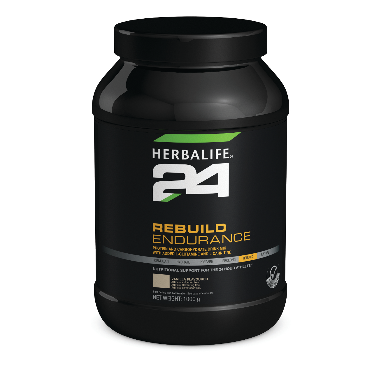 Herbalife24® Rebuild Endurance Protein-Carbohydrate Drink Mix Vanilla Flavoured product shot