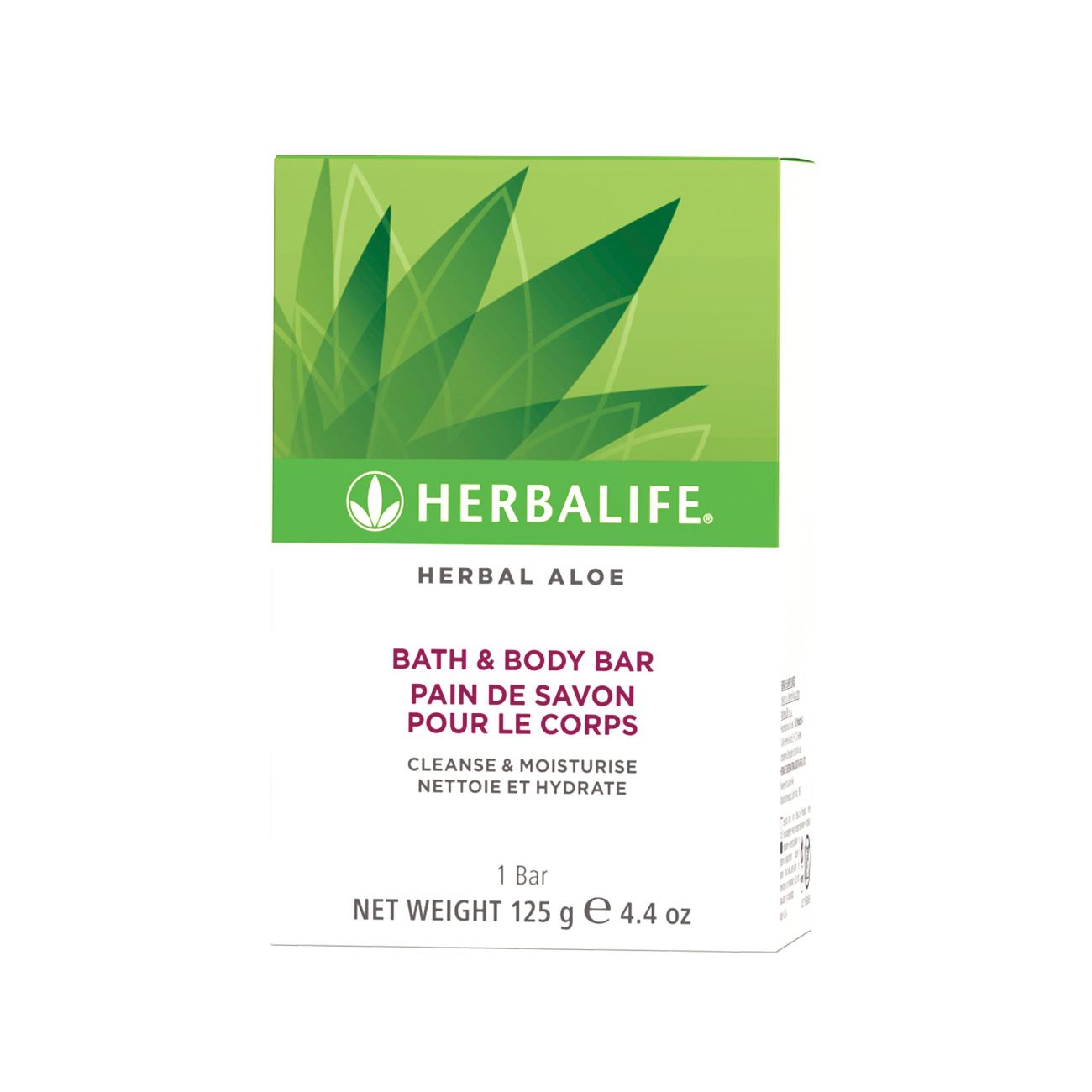 Herbal Aloe Bath & Body Bar  product shot