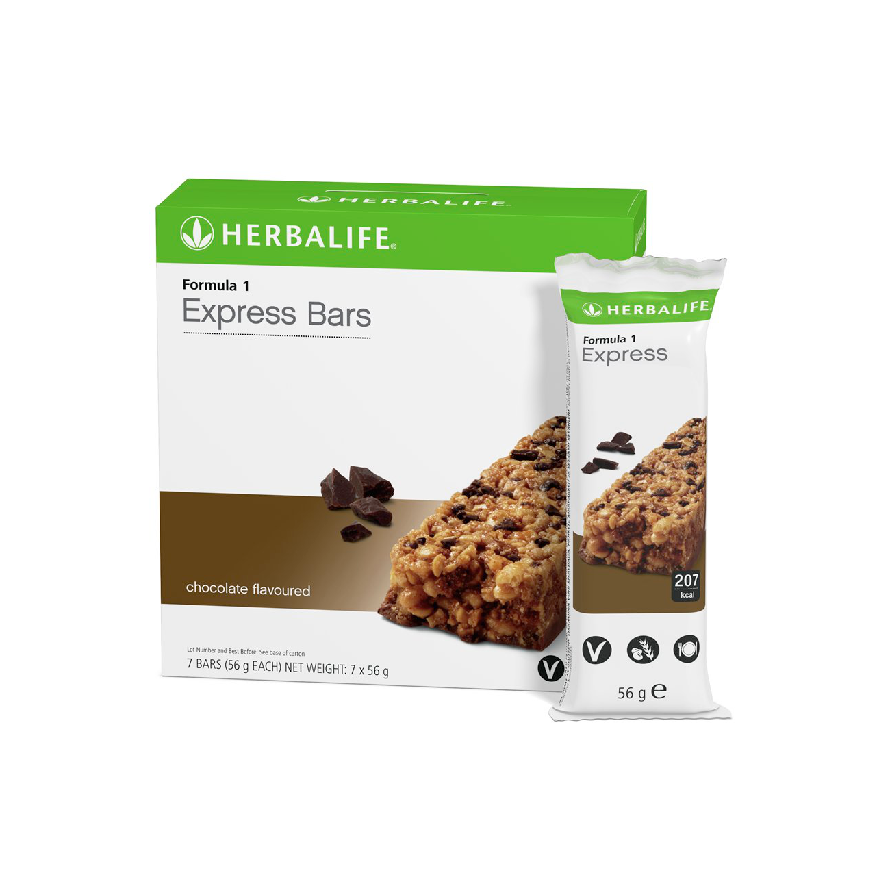 Formula 1 Express Bars  Chocolate Flavoured product shot