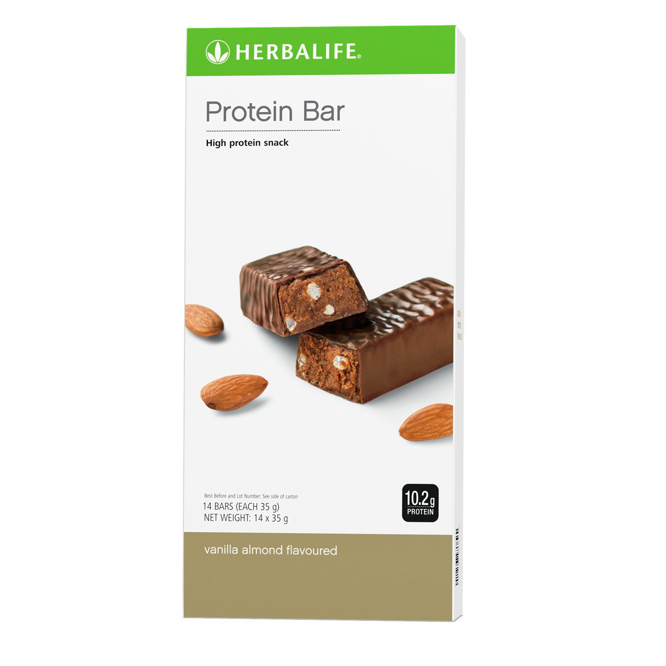 Protein Bars  Vanilla Almond Flavoured product shot
