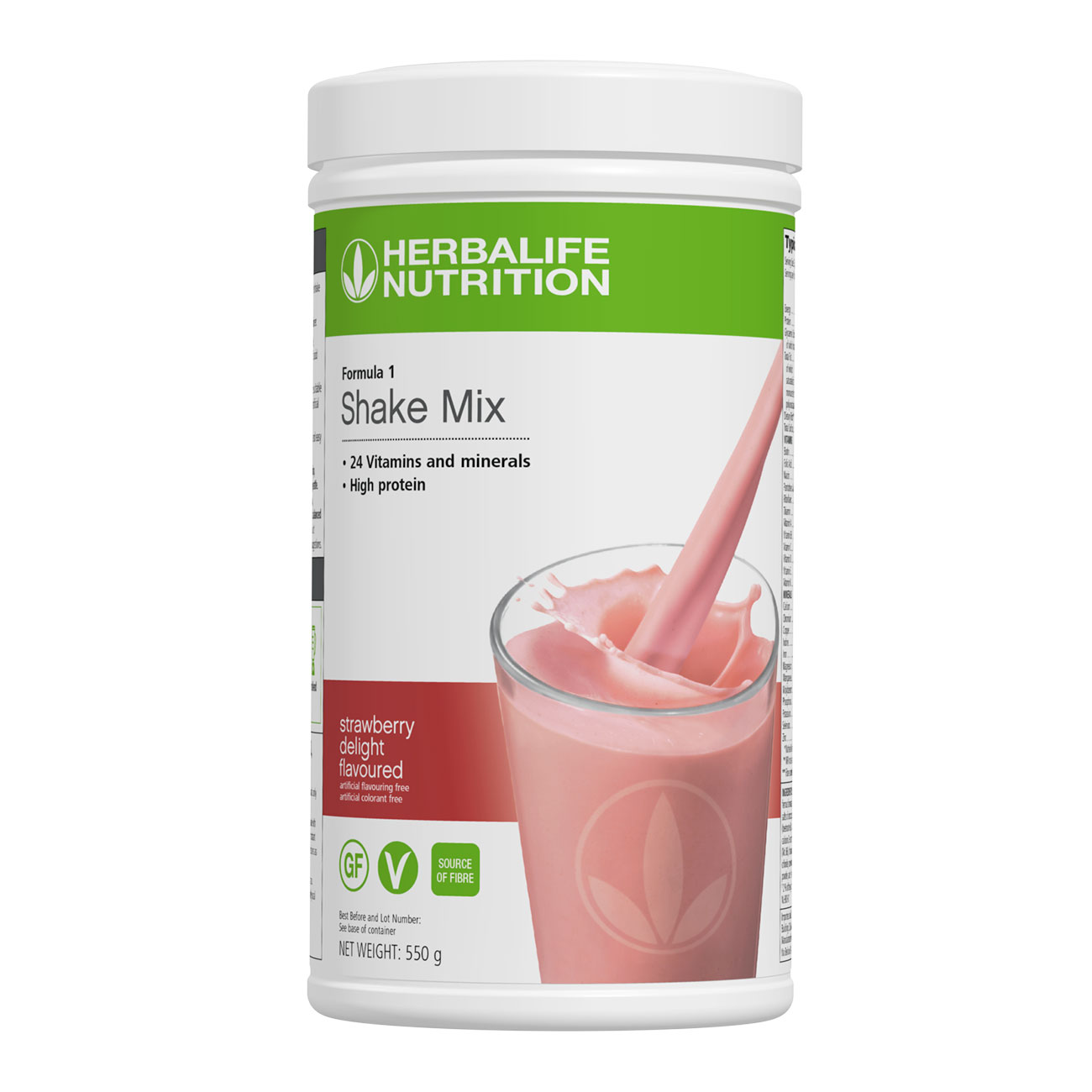 Formula 1 Shake Mix Strawberry Delight Flavoured product shot