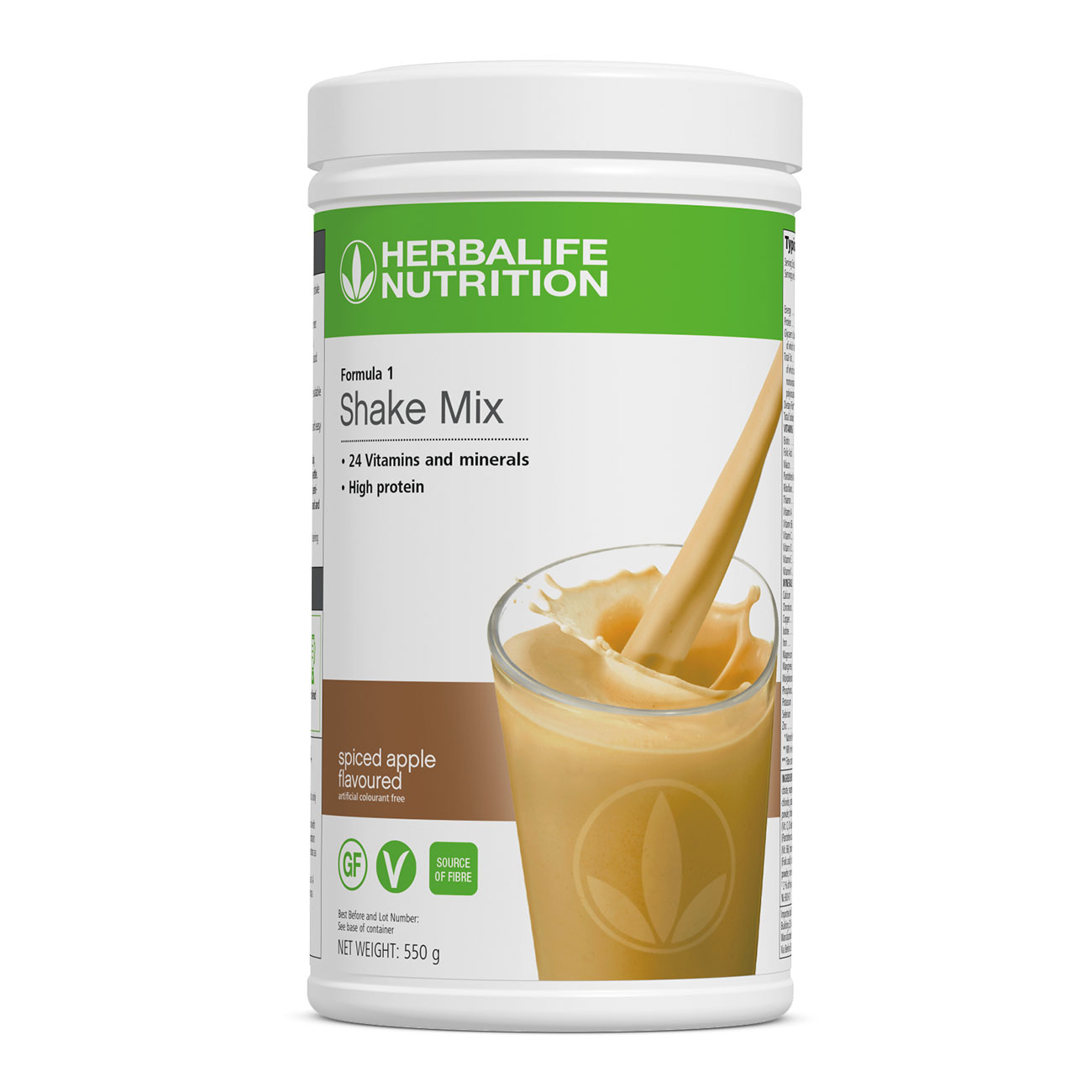 Formula 1 Shake Mix Spiced Apple Flavoured product shot