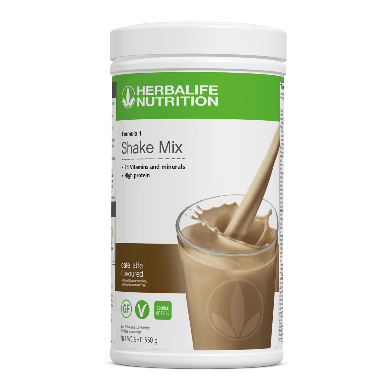Formula 1 Shake Mix Café Latte Flavoured product shot