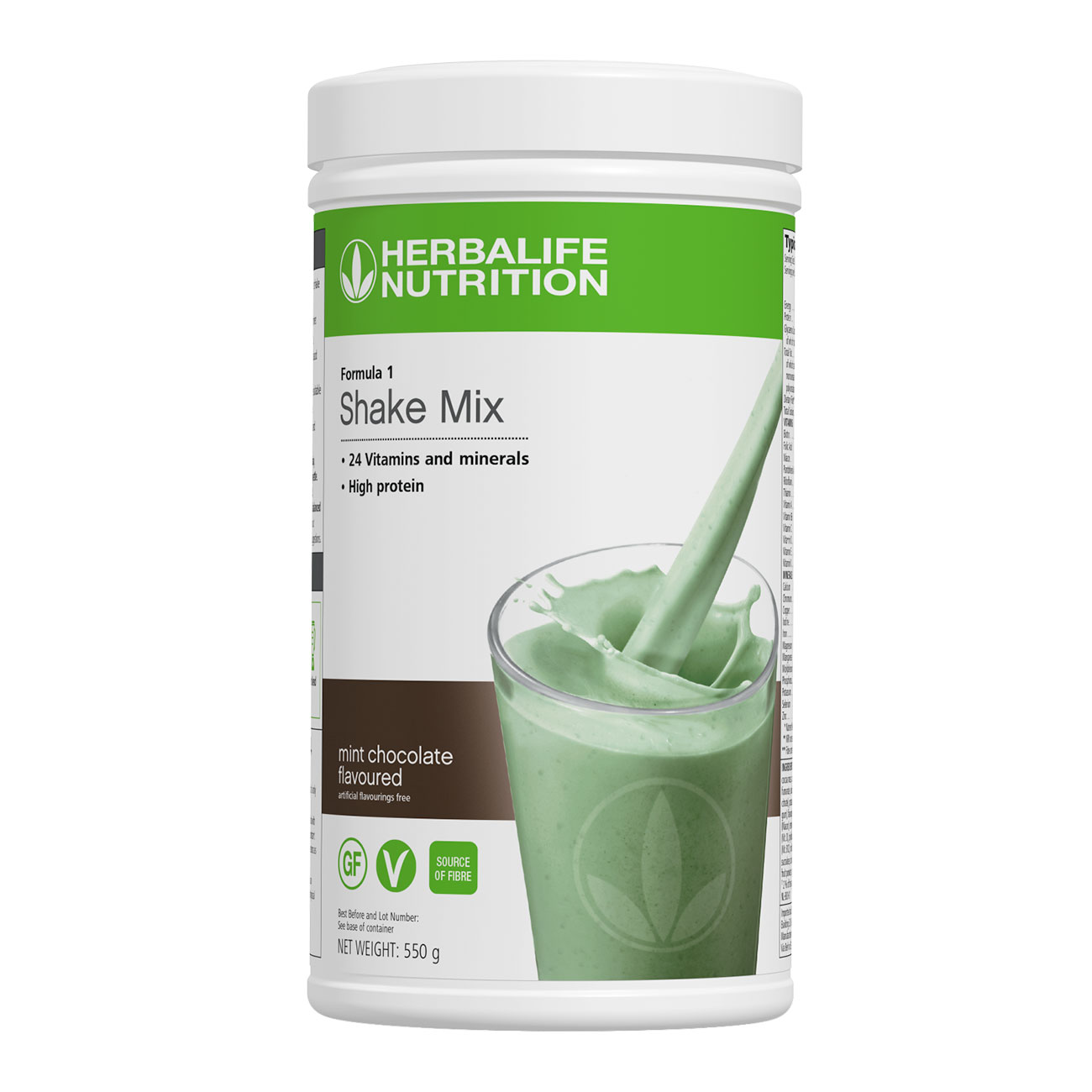 Formula 1 Shake Mix Mint Chocolate Flavoured product shot